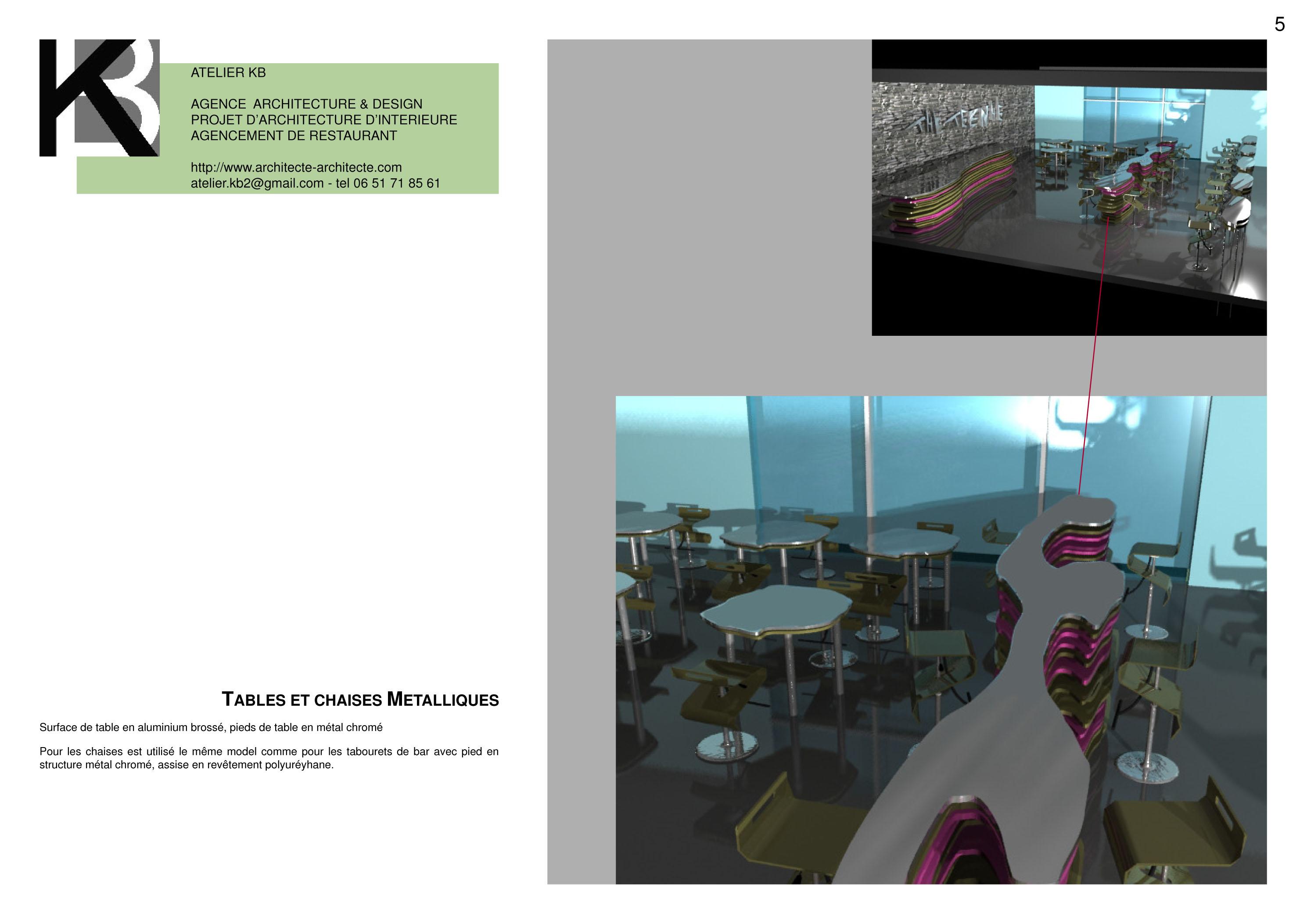 Architecte restaurant for Architecte interieur restaurant
