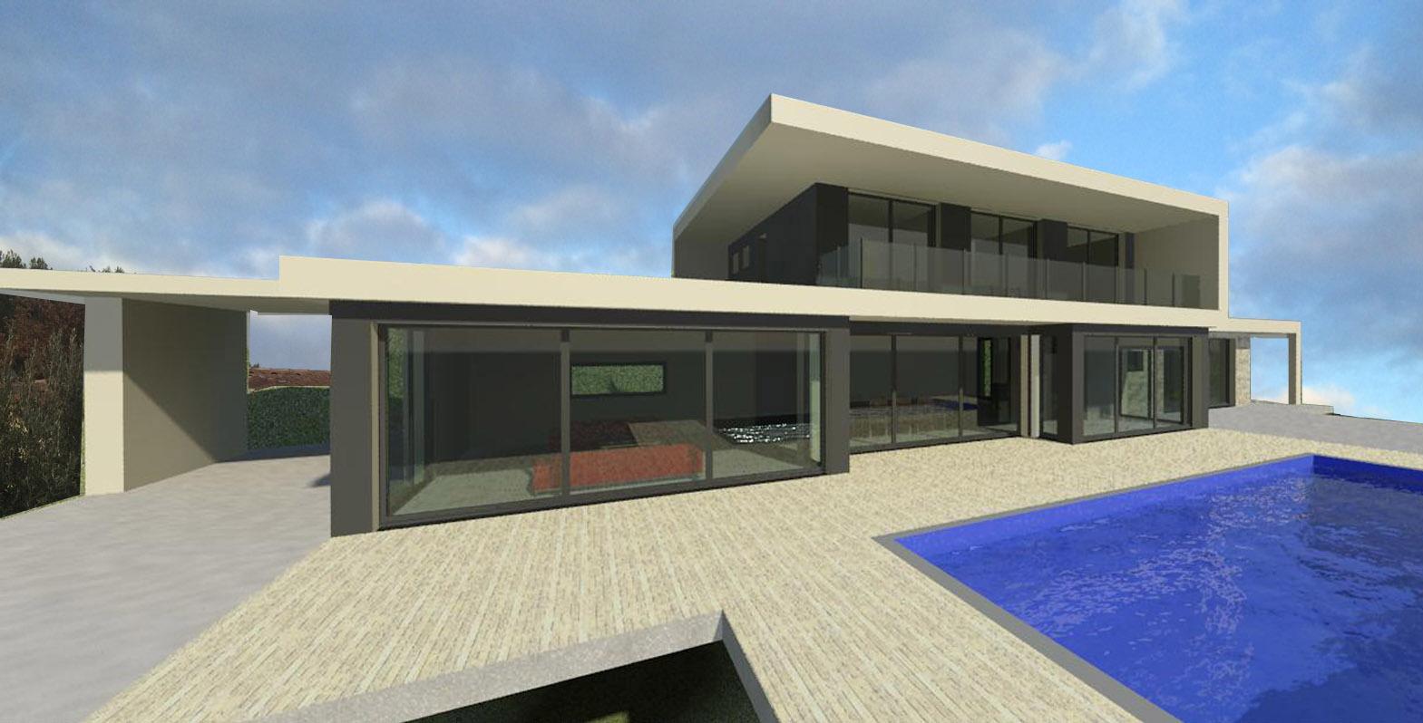 Architecte maison villa de luxe prestige for Architecte maison de luxe